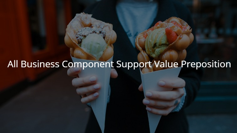 Value Proposition Component that Must to Consider