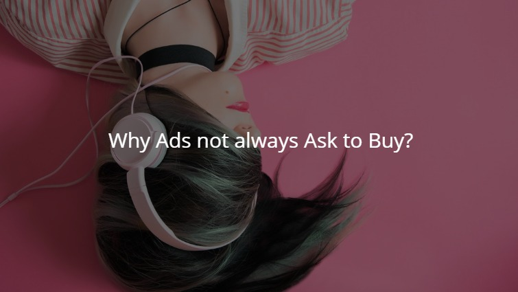 Advertising Goal Not Always for Conversion