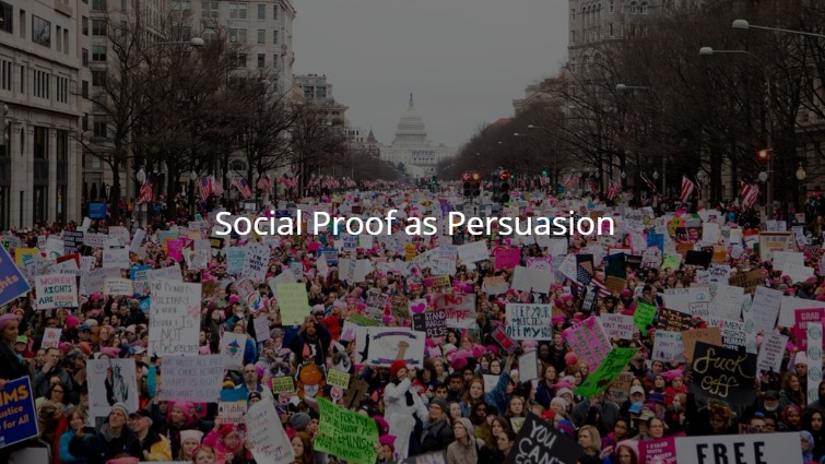 persuasion technique social proof