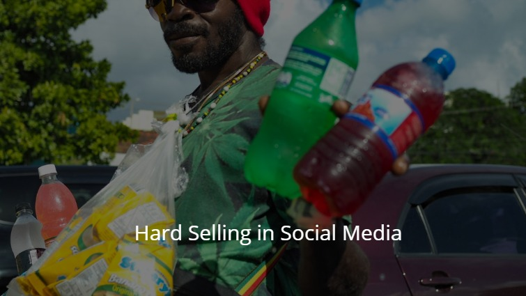 Hard Selling in Social Media