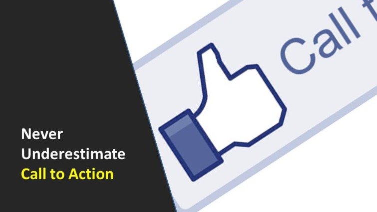 Call to Action Advertising - easy but Important