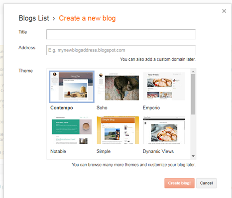 Blogging for Promoting Your Business