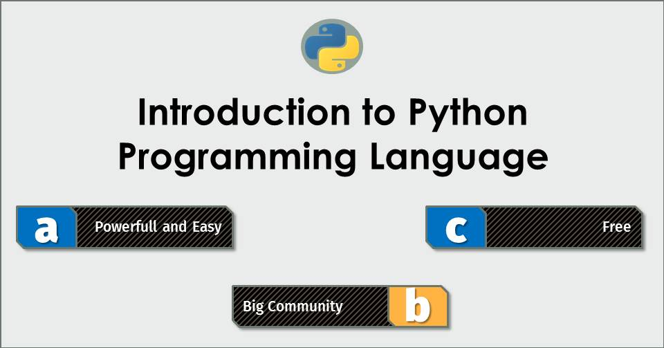 #1 Introduction to Python Programming Language