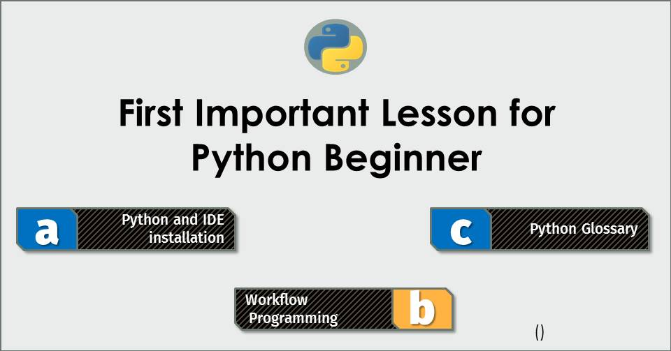 #2 First Important Lesson for Python Beginners