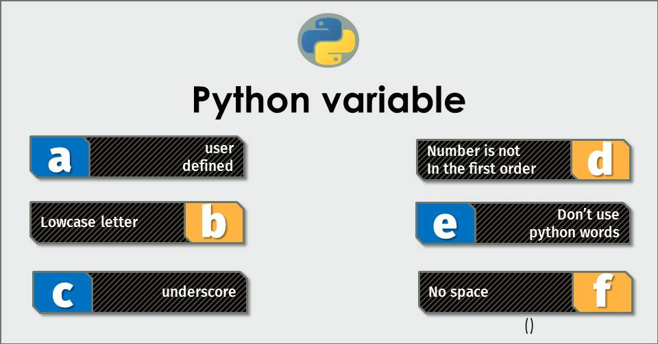 #3 Python Glossary : Variable