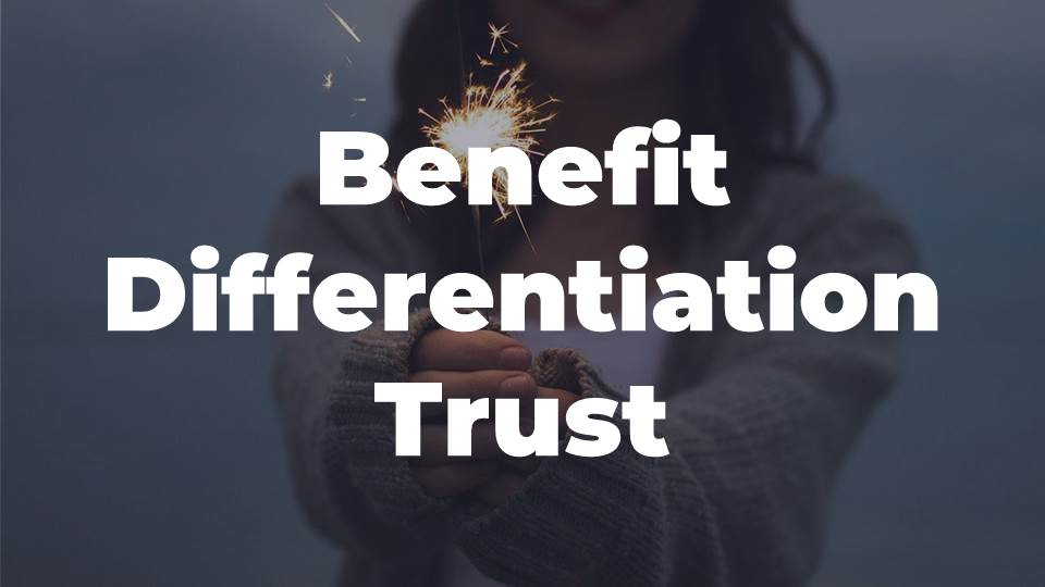 List of Words About Benefit, Differentiation, Trust in Headline