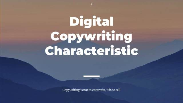 #1 What is Character of Digital Copywriting