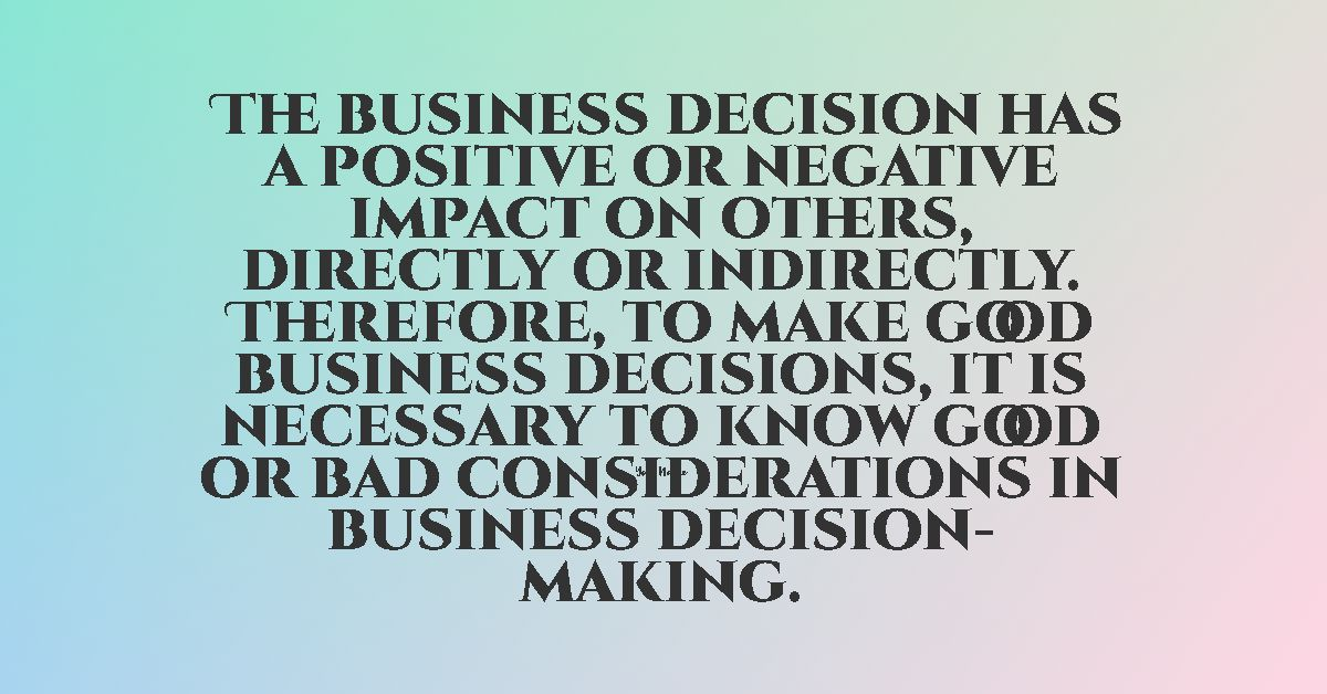ethics code in business